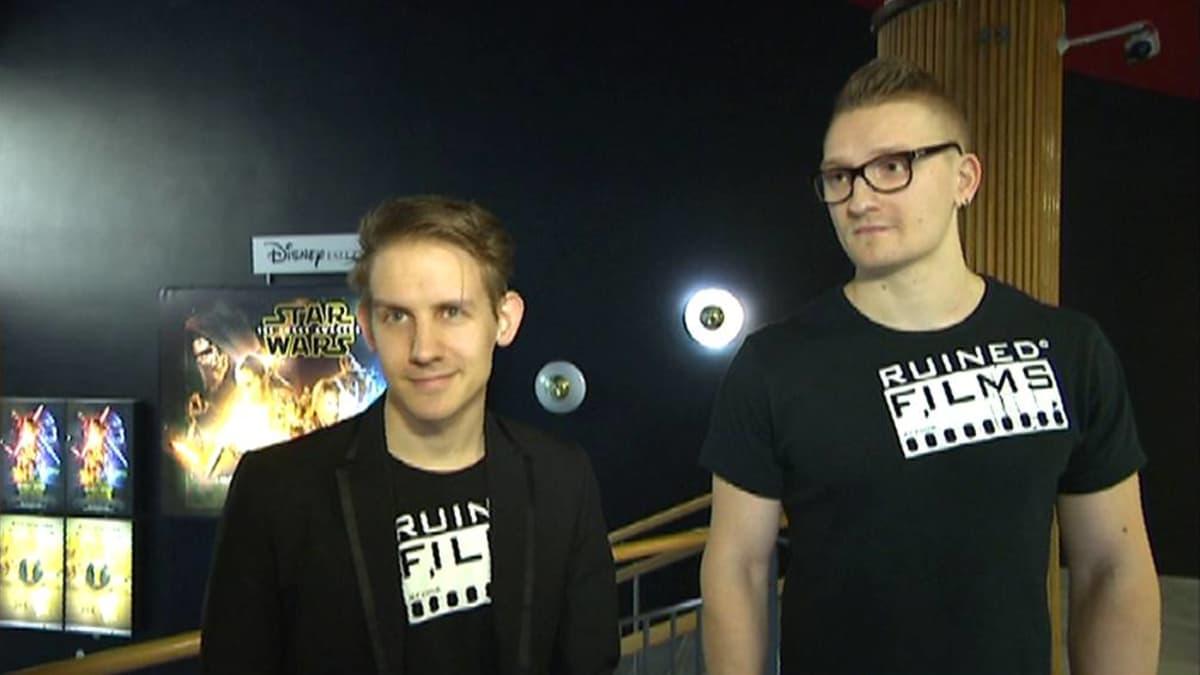 Eric ja Henrik Raunio.