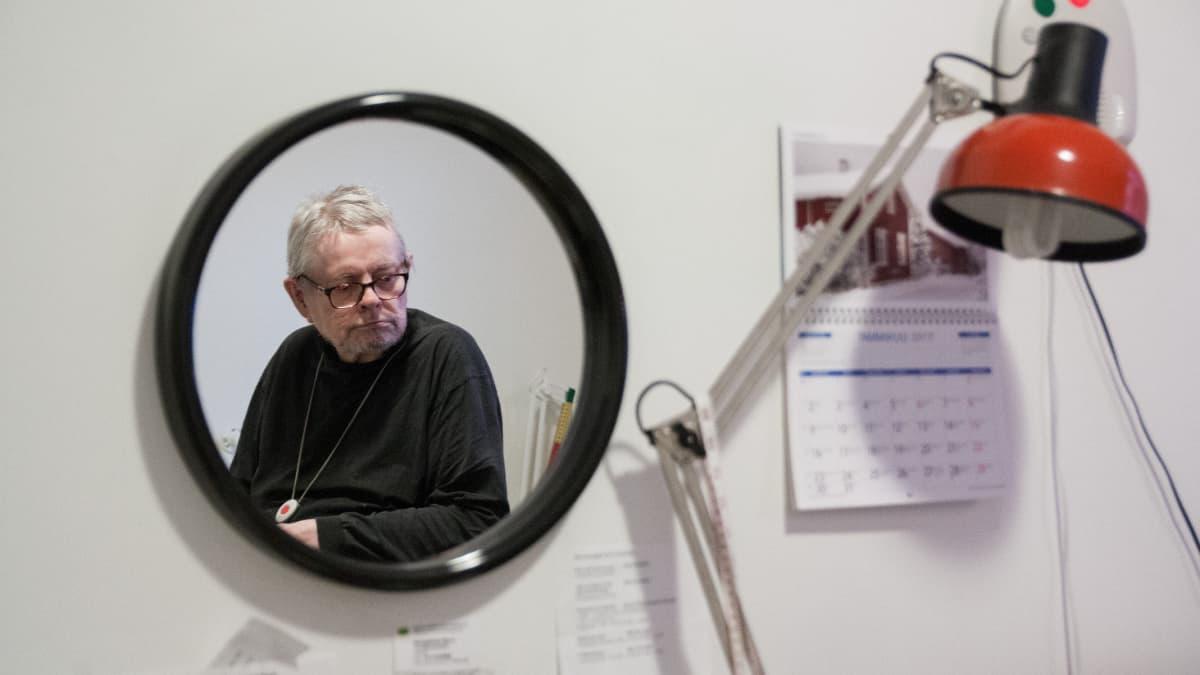 Hyrynsalmelainen Paavo Karjalainen.