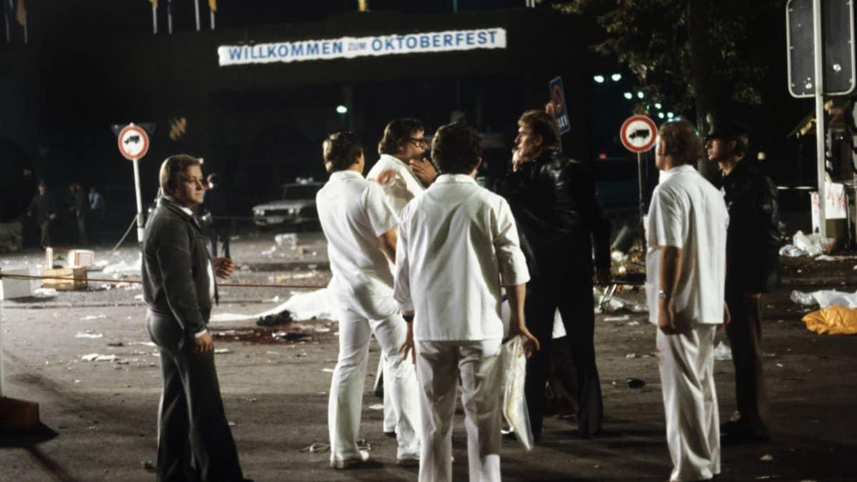 Pommi-isku Oktoberfestillä Münchenissä 26. syyskuuta 1980.