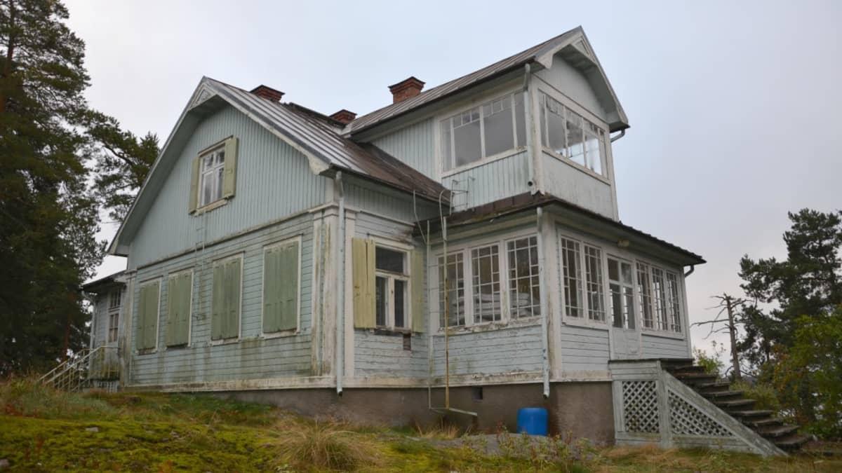 Villa Kolkka Ruissalossa