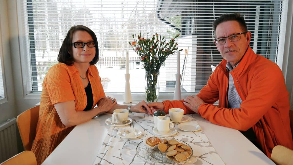 Raija Määttä ja Pekka Laitinen