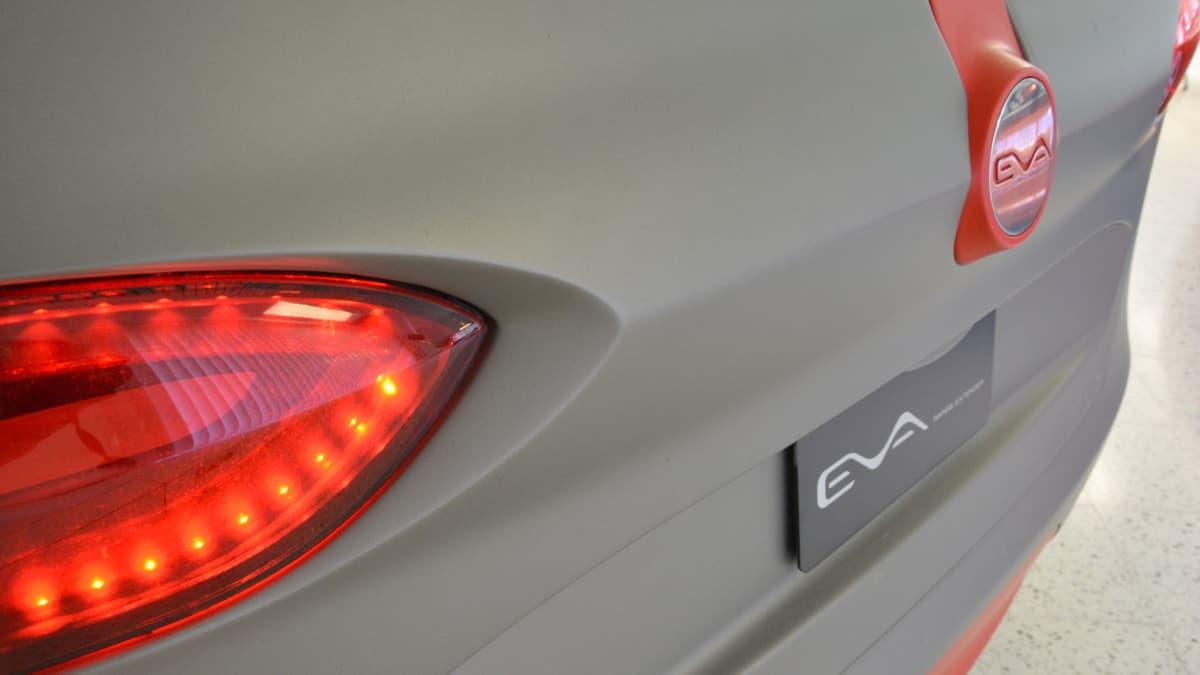 Valmet Automotiven sähköautokonsepti Eva II.