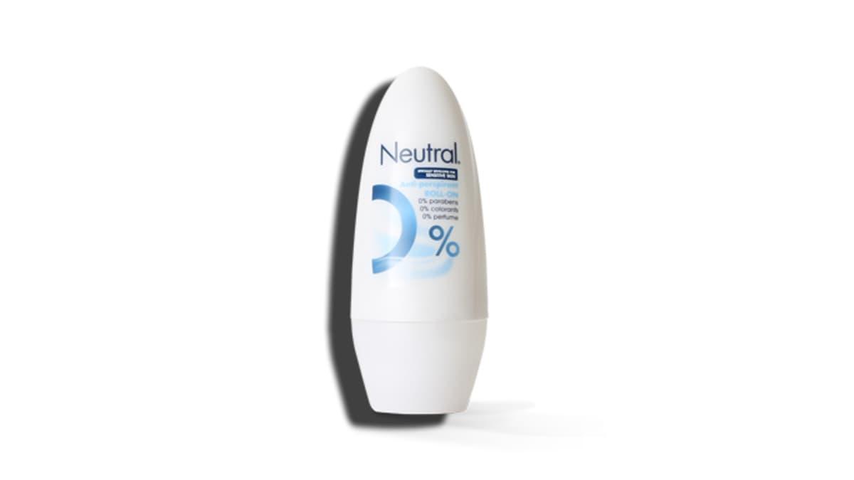 Neutral Deo Roll-On. Poisveto koskee Neutral Deo Roll-On (50 ml) -deodorantteja, jotka kuuluvat valmistuseriin 4148, 4162, 4169 tai 4182.