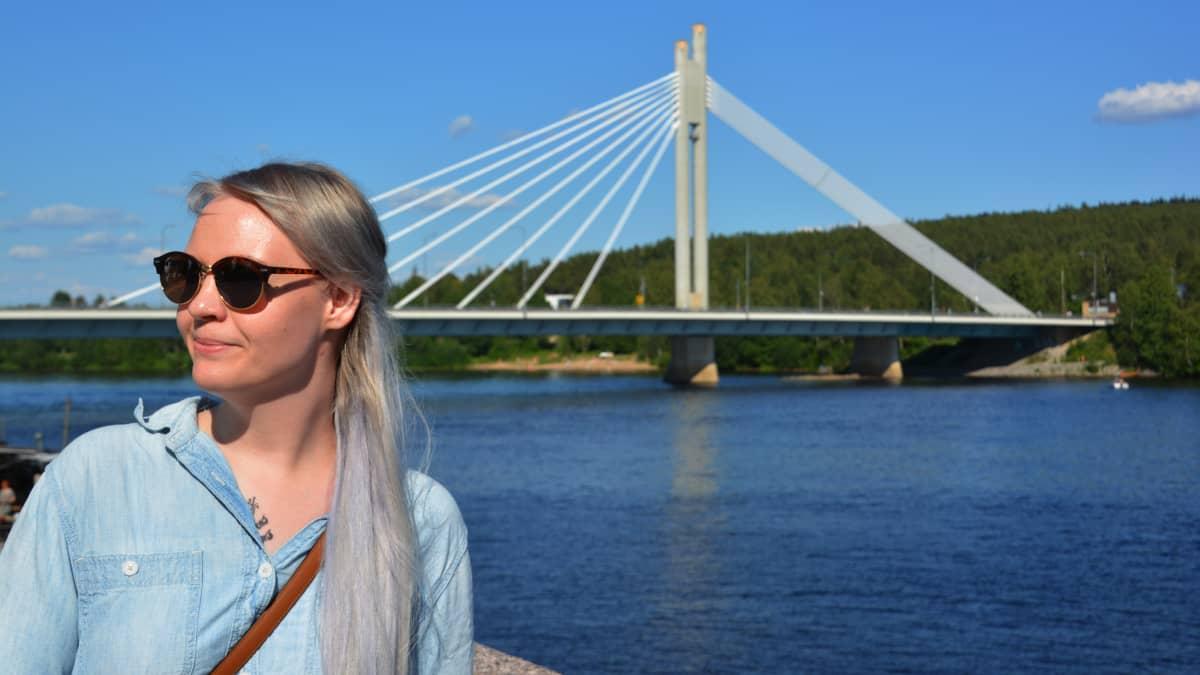 Kiti Kalliomäki Rovaniemellä.