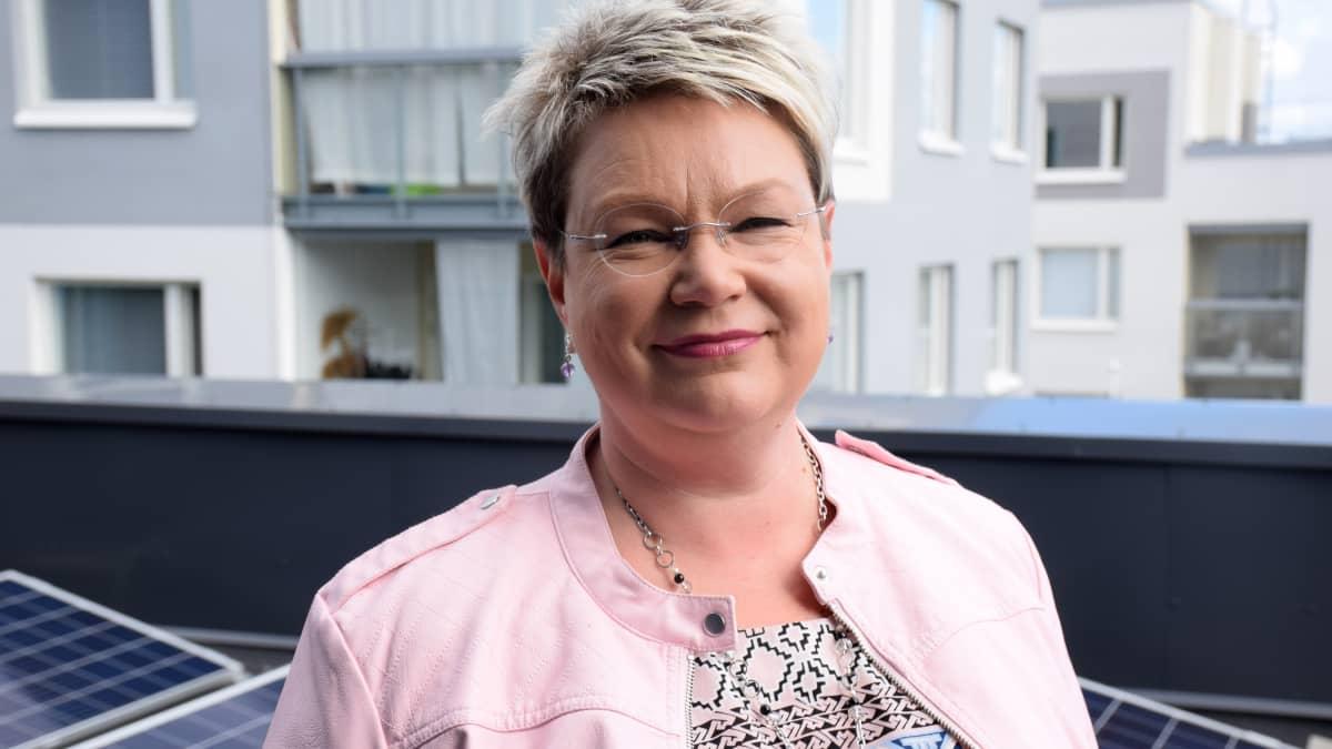 Goodmanin kauppakeskusjohtaja Eeva Jauro.