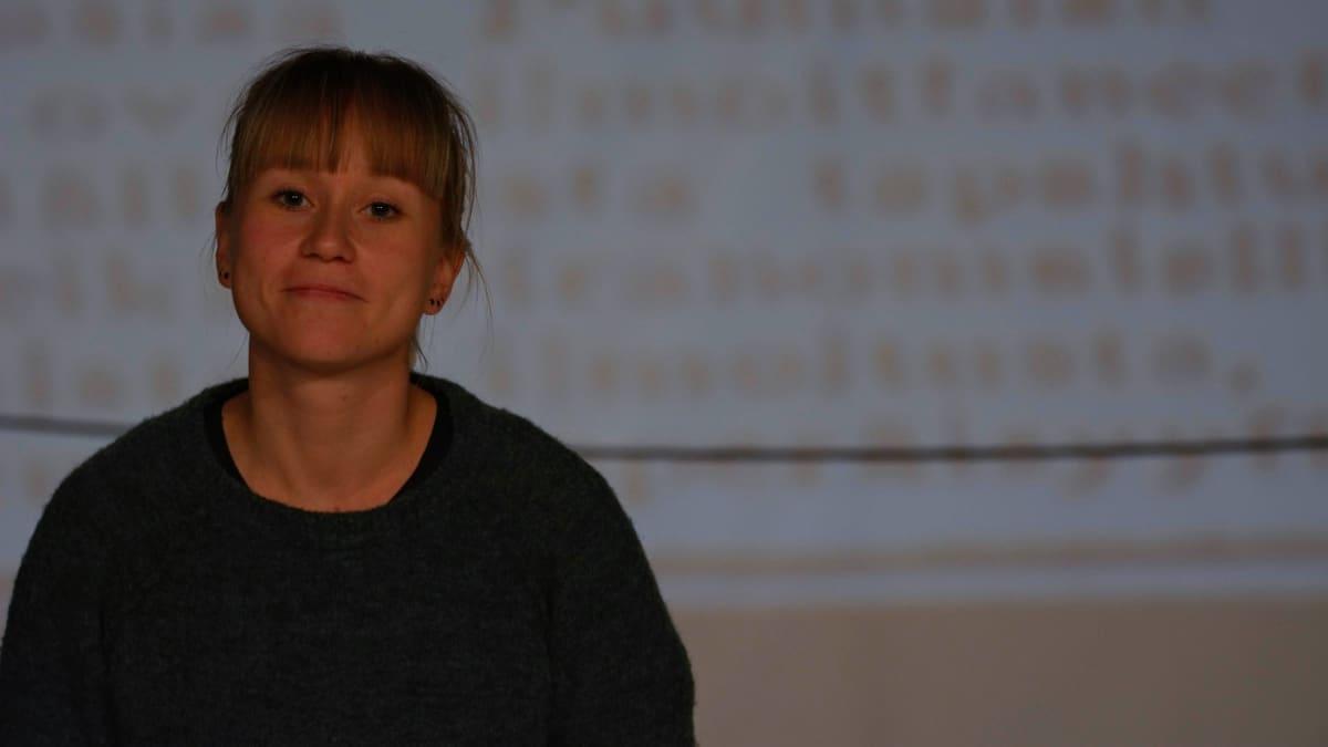 Näyttelijä Saara Karjalainen