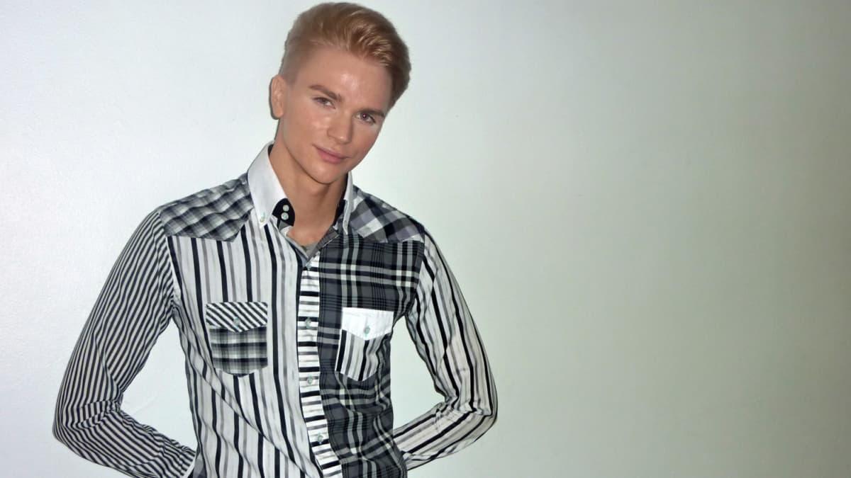 Best Model of Finland -kisan voittaja Christian Patrikainen.