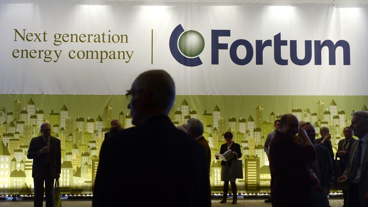 Energiayhtiö Fortum piti yhtiökokouksensa Helsingissä tiistaina 9. huhtikuuta 2013.