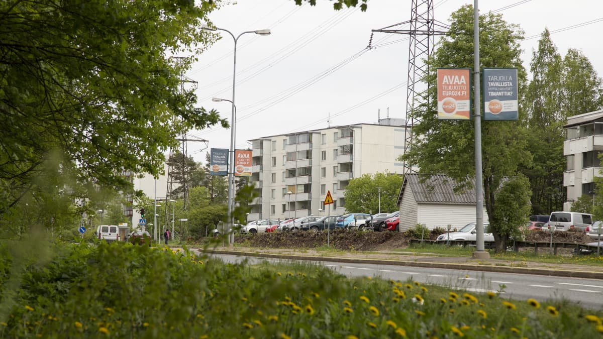 Länsimäen kaupunginosa Vantaalla
