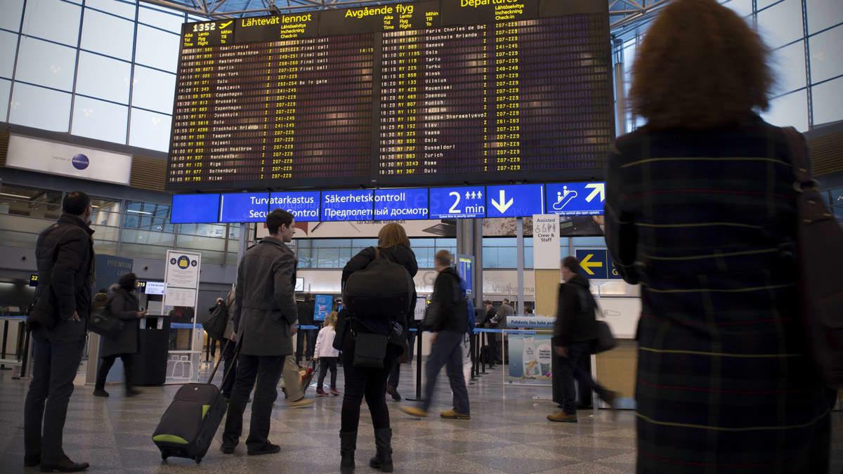 Helsinki-Vantaan lentoasema