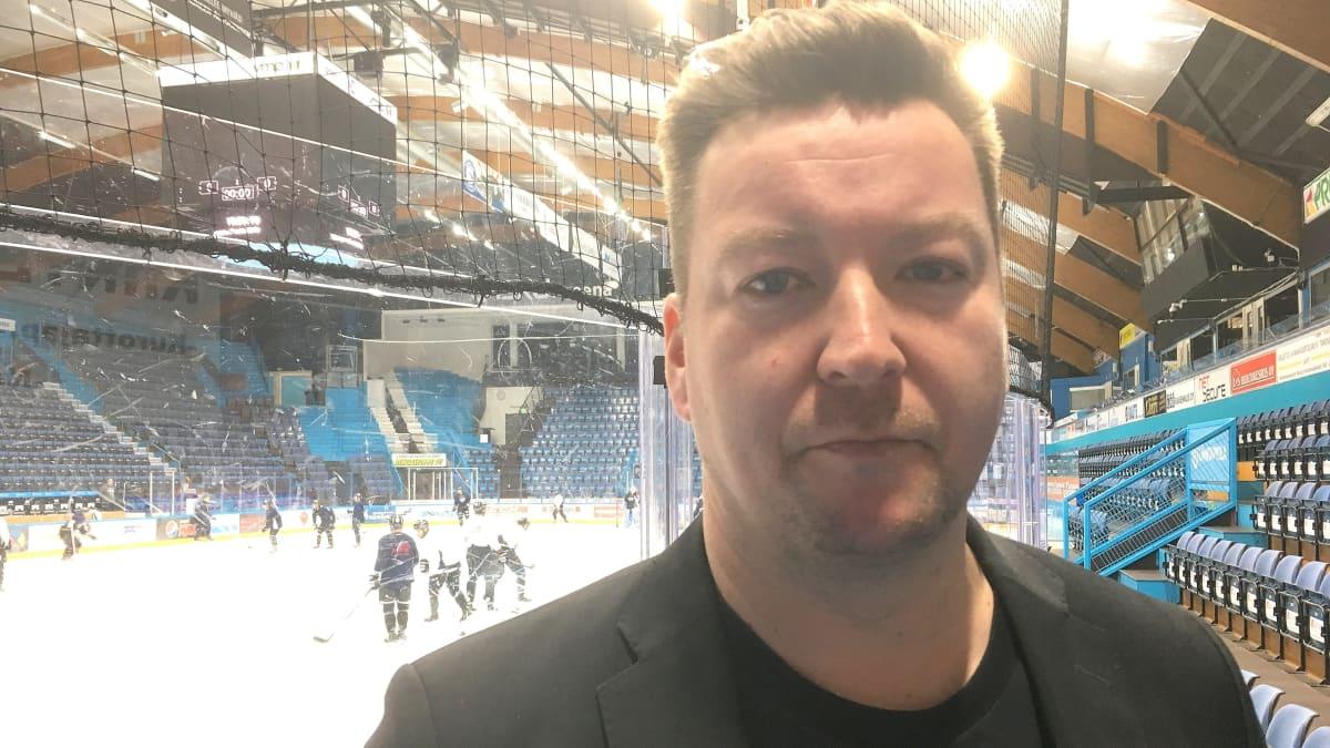 Lahden Pelicans Oy:n toimitusjohtaja Tomi-Pekka Kolu
