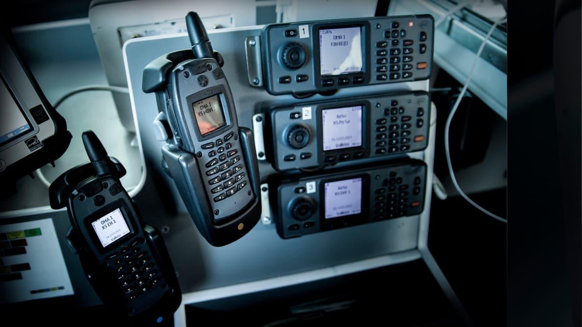 Virve-puhelimia