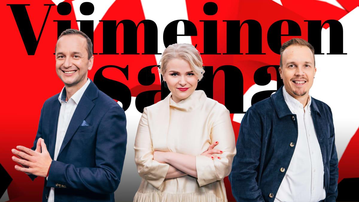 Viimeinen sana on Ylen mediakriittinen keskusteluohjelma. Sitä juontavat Heikki Valkama, Lena Nelskylä ja Olli Seuri.