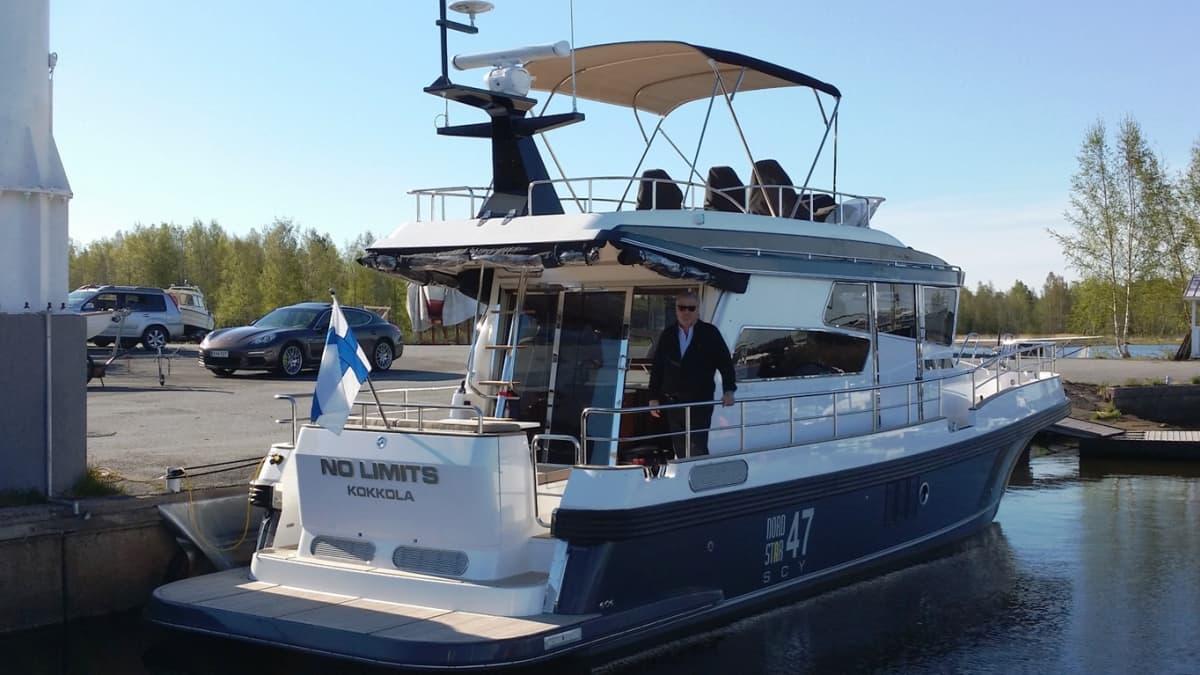 Linex-Boatin 15-metrinen Nord Star 47