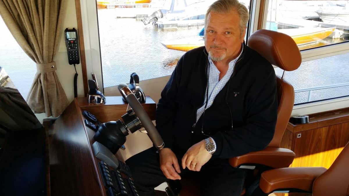 Linex-Boatin toimitusjohtaja Olli Lindkvist.