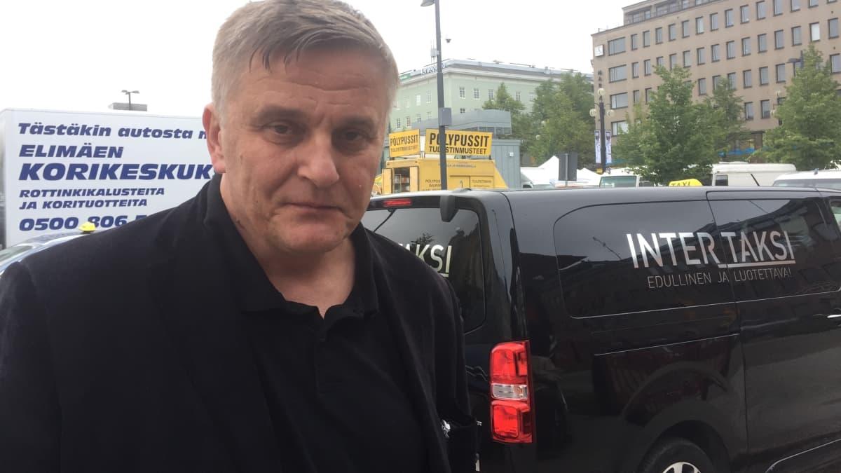 Kyyti Groupin toimitusjohtaja Pekka Möttö