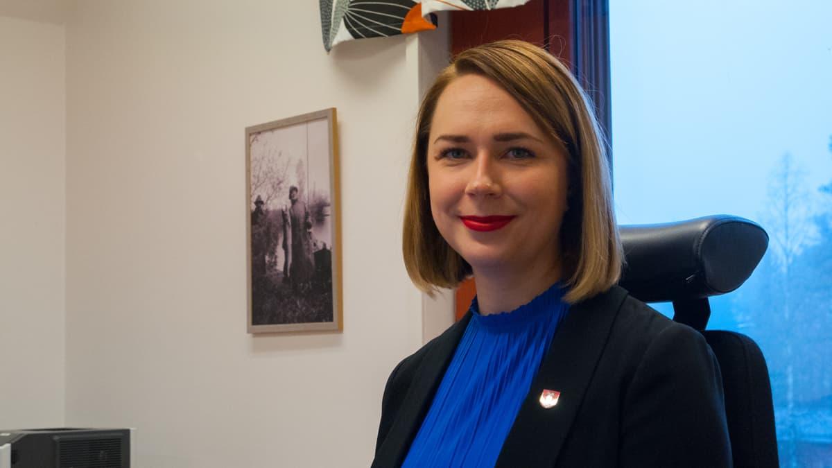 Vaalan kunnanjohtaja Miira Raiskila