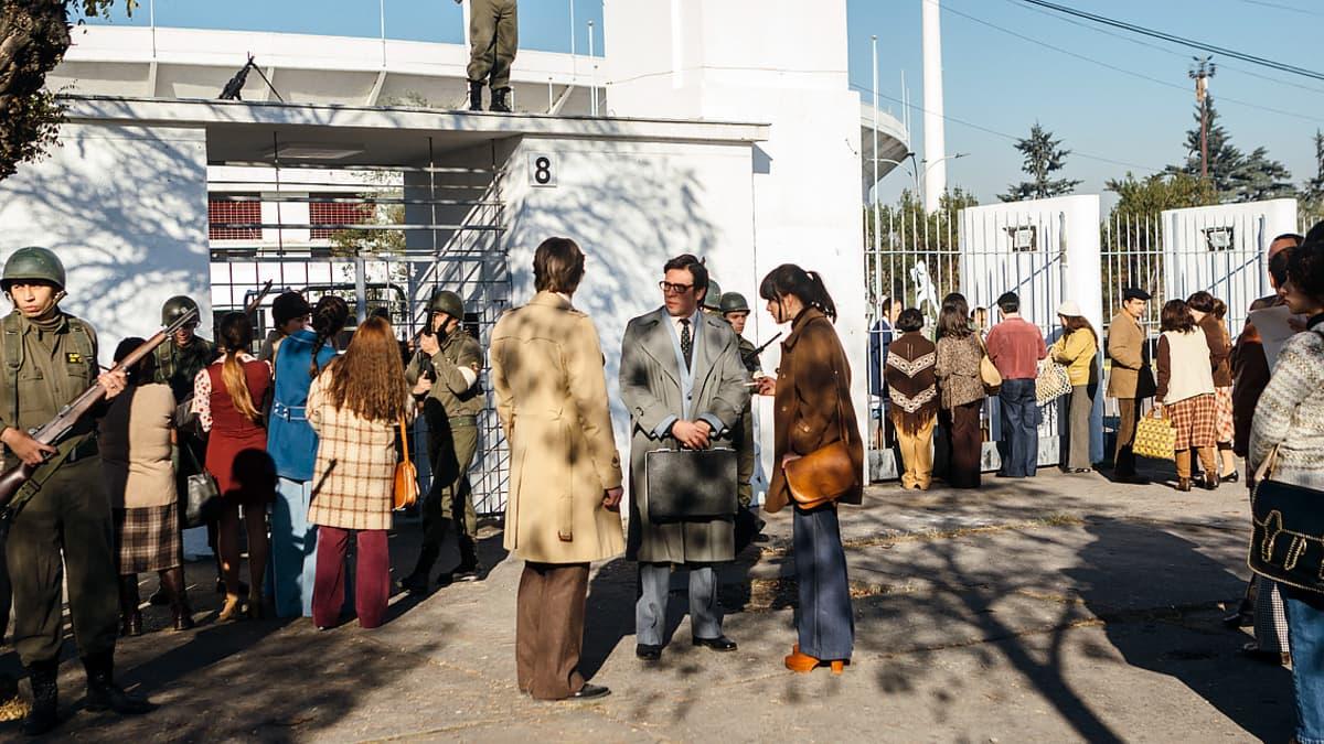 Invisible Heroes -draamasarjan kuvaukset Chilessä.