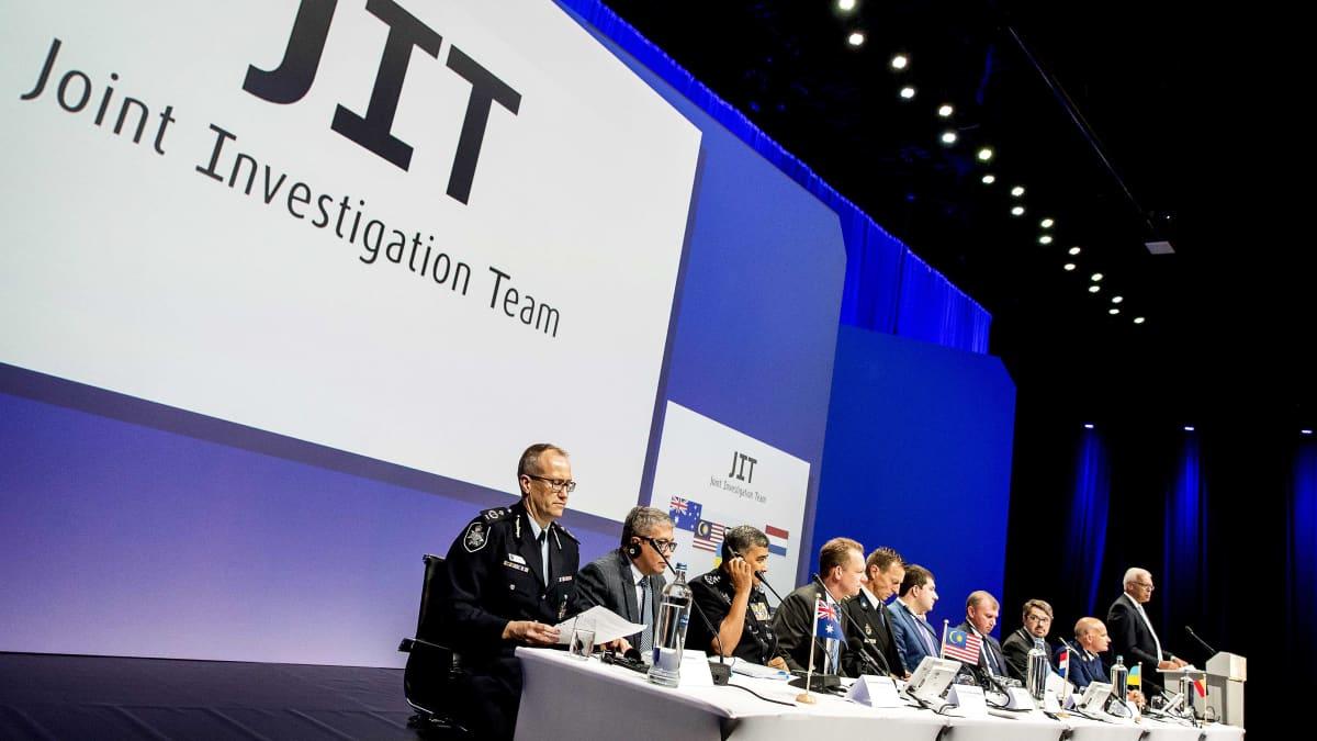 Tutkintaryhmä julkisti tuloksensa Nieuwegeinissa Hollannissa 28. syyskuuta.
