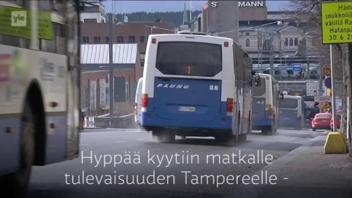 Yle Uutiset Pirkanmaa: Arkkitehtien villit visiot