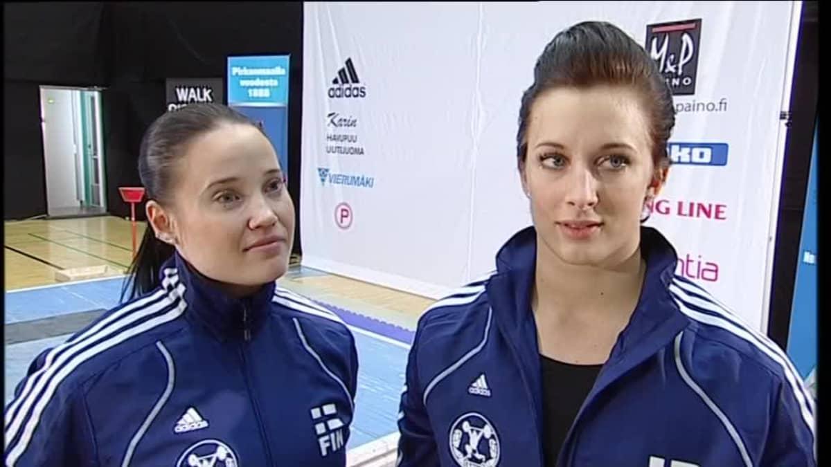 Rion olympialaiset: Arkistoista: Painonnostaja Anni Vuohijoki ei stressannut olympiavalintoja