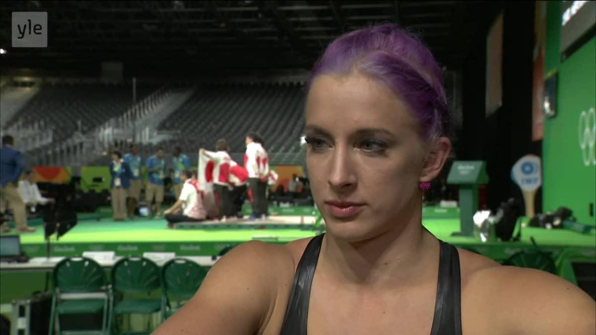"""Rion olympialaiset: Anni Vuohijoki: """"En ole ikinä nähnyt itseäni noin hermostuneena"""""""