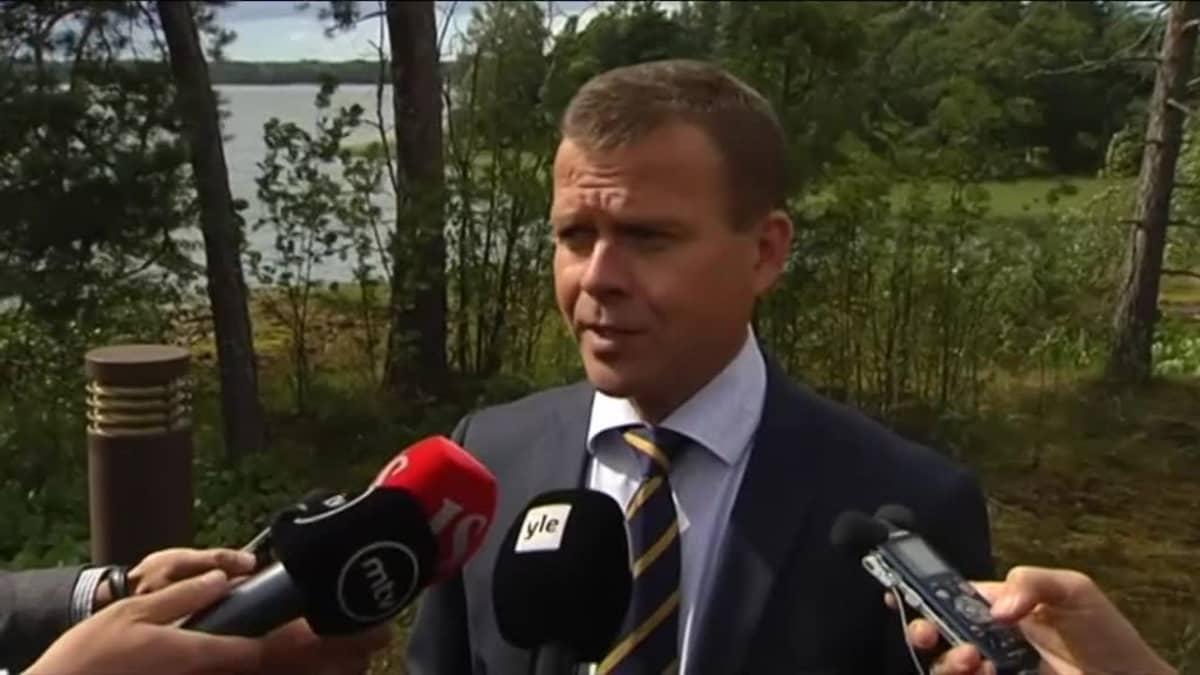 Uutisvideot: Ministeri Orpo summasi budjettineuvottelujen ensimmäistä päivää
