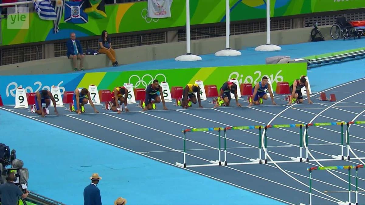 Rion olympialaiset: Omar Macleod aitoi itsensä olympiakultaan!