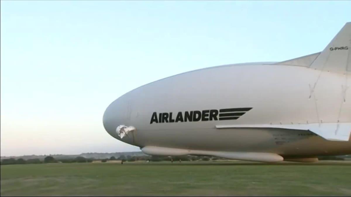 Uutisvideot: Maailman pisin ilma-alus teki ensilentonsa