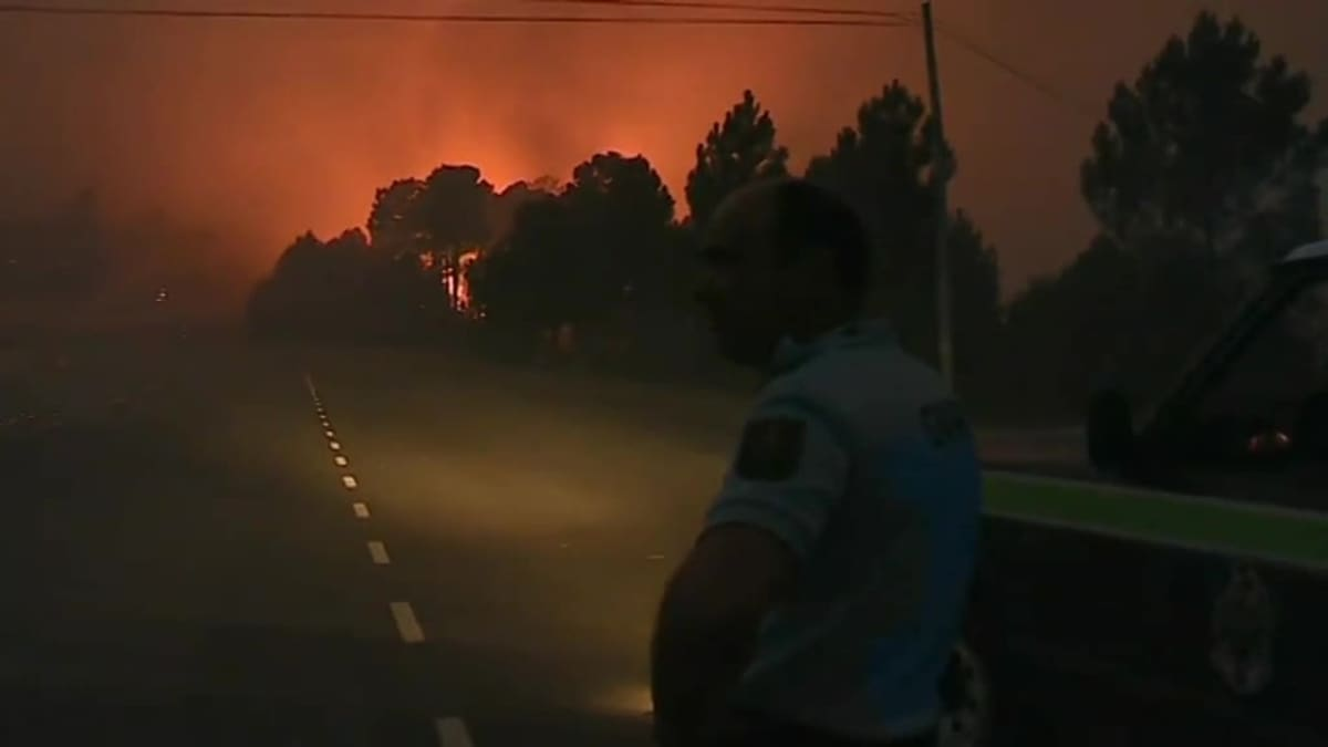 Uutisvideot: Maastopalot riehuvat Portugalissa