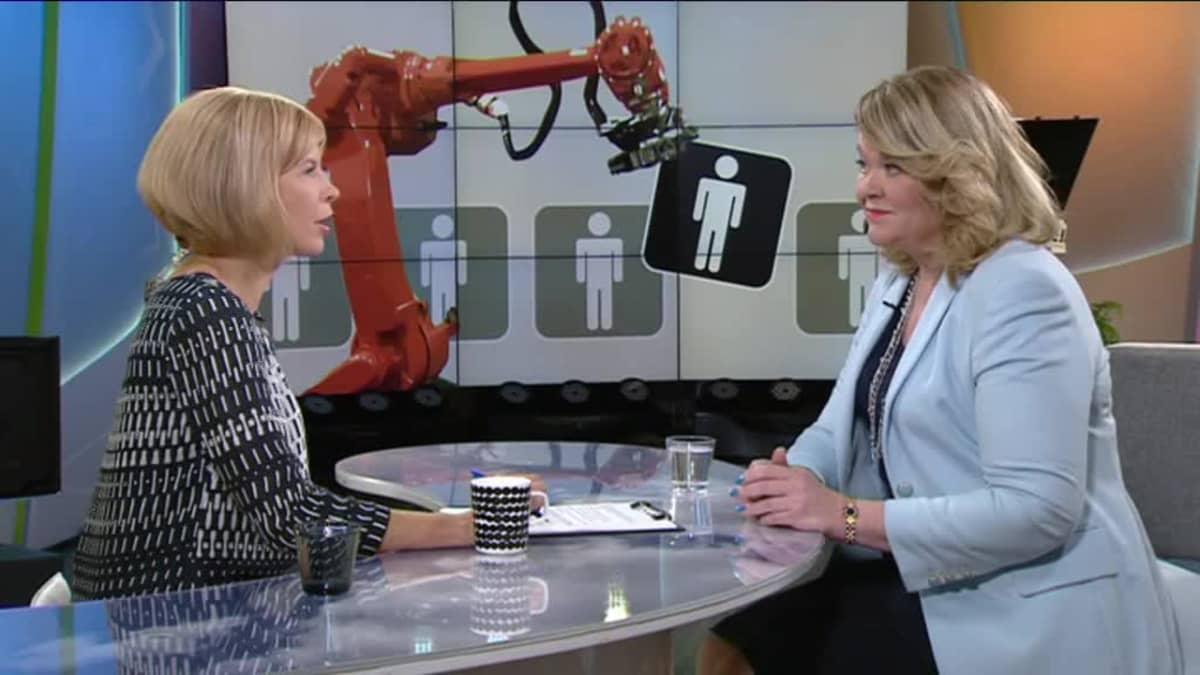 Ylen aamu-tv: Ketä robotti ei korvaa?