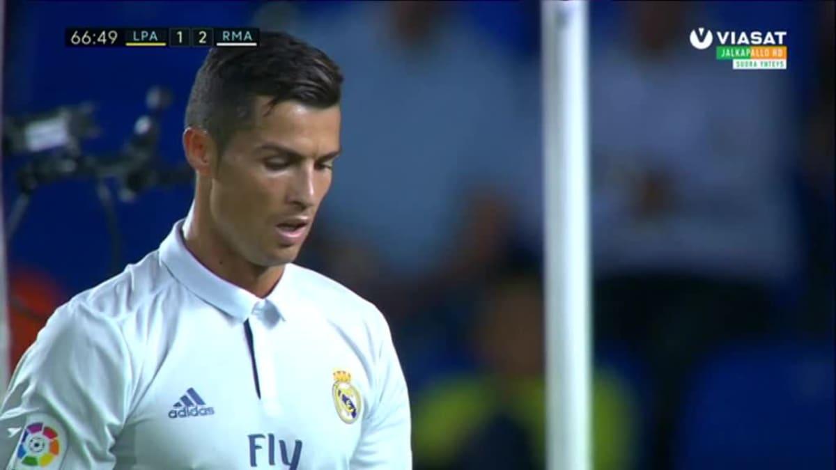 La Liga huippuhetket: Maalikooste: Real jäi tasapeliin Las Palmasissa