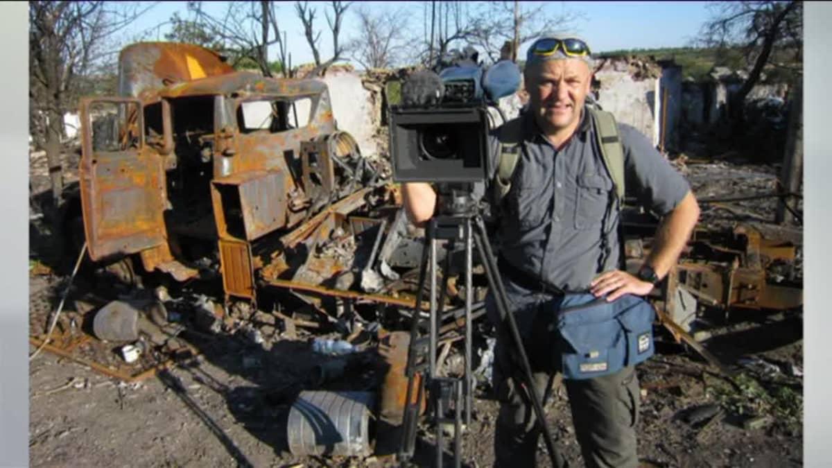 Ylen aamu-tv: Sotakuvaaja on askeleen päässä kuolemasta