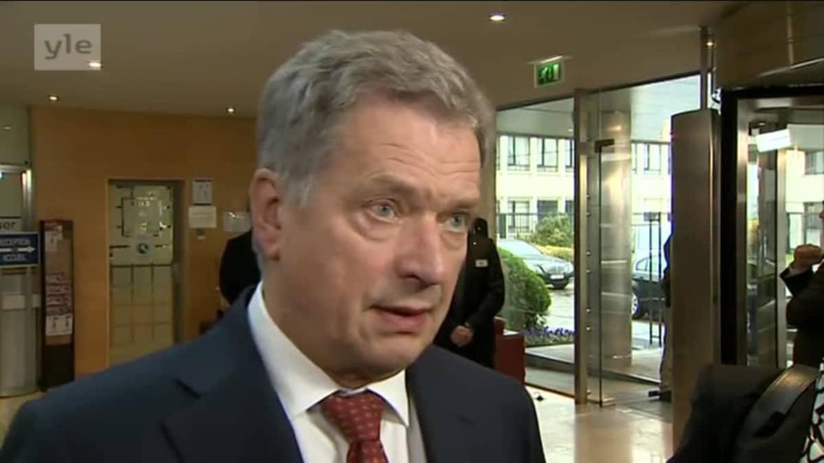 Uutisvideot: Niinistö kommentoi Usan vaaleja