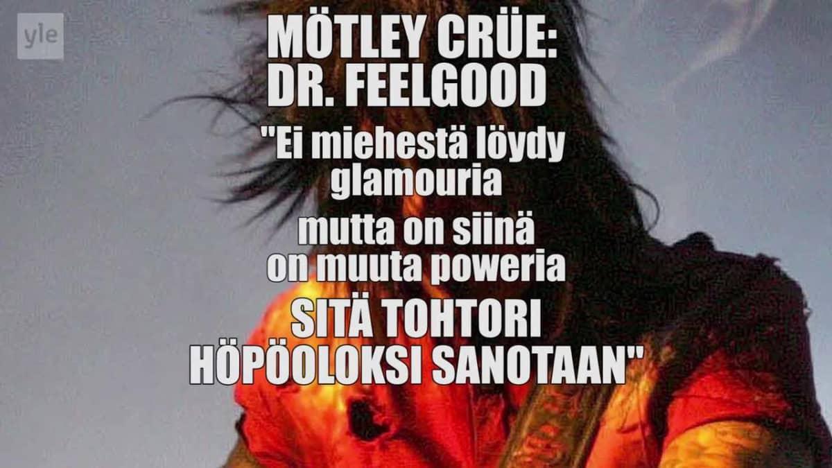 """Uutisvideot: Mötley Crüe -kääntäjä: """"– Aina on porukka, jonka mielestä laulujen käännökset ovat pyhäinhäväistystä"""""""