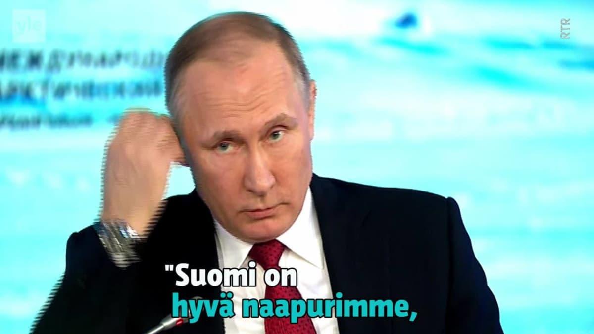 Uutisvideot: Putin varovaisen myönteinen Helsingin huippukokoukselle