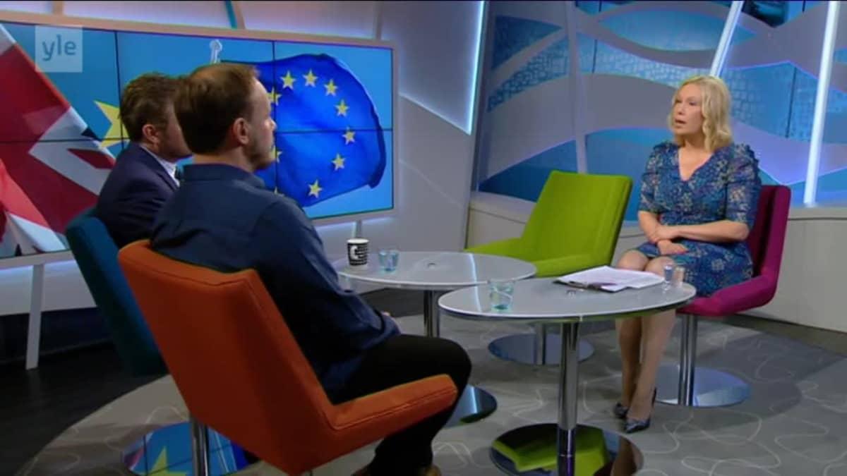 Ylen aamu-tv: Brexit-neuvottelujen eteneminen