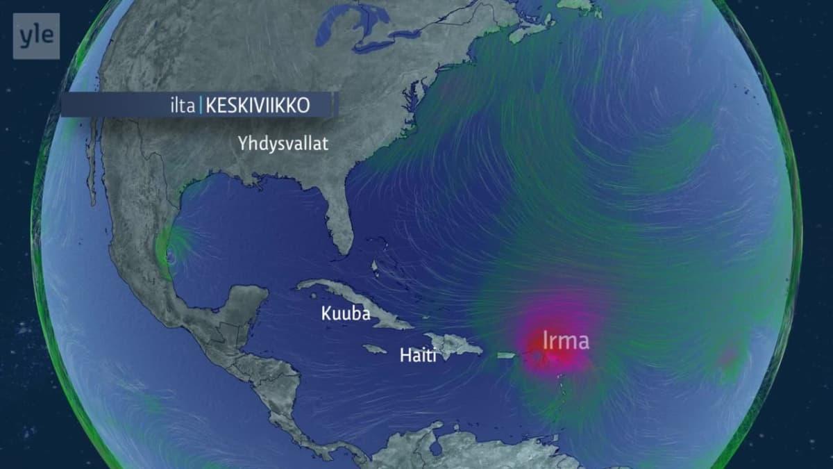 Hurrikaani Irma Karibialla
