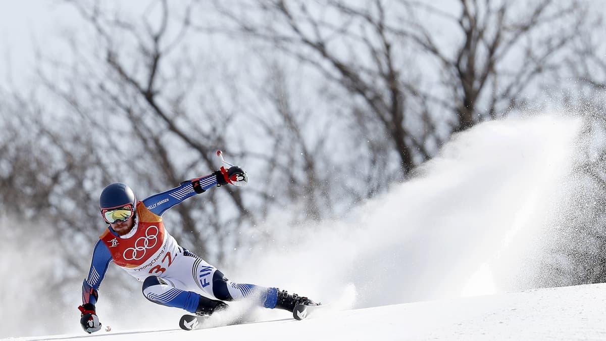 Korean olympialaiset: Samu Torsti onnistui toisella kierroksella