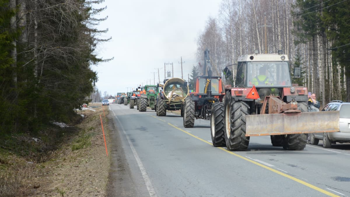 Maitotien traktorikapina