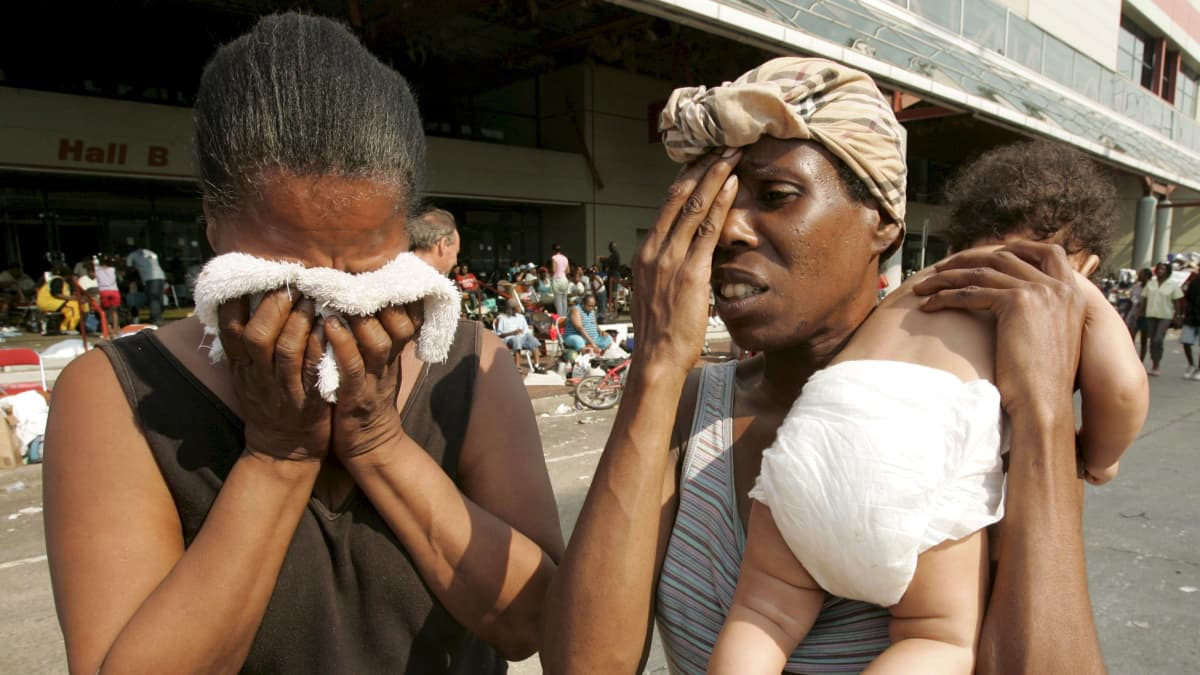 Vuonna 2005 Katrina-myrsky aiheutti laajaa tuhoa New Orleansissa