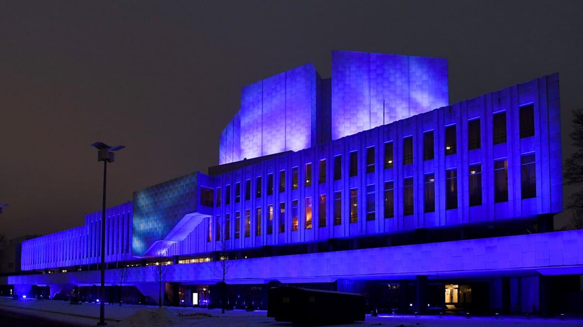 Lux Helsinki valofestivaali alkoi