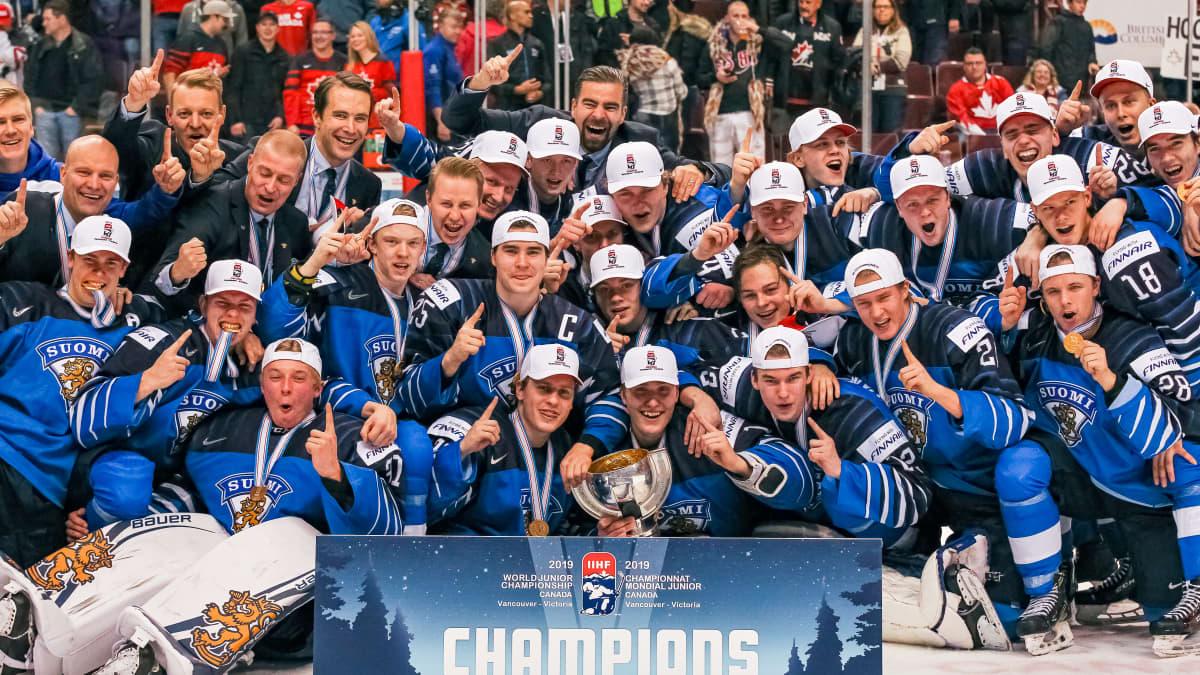 Nuorten MM-finaalin maalikooste: USA-Suomi