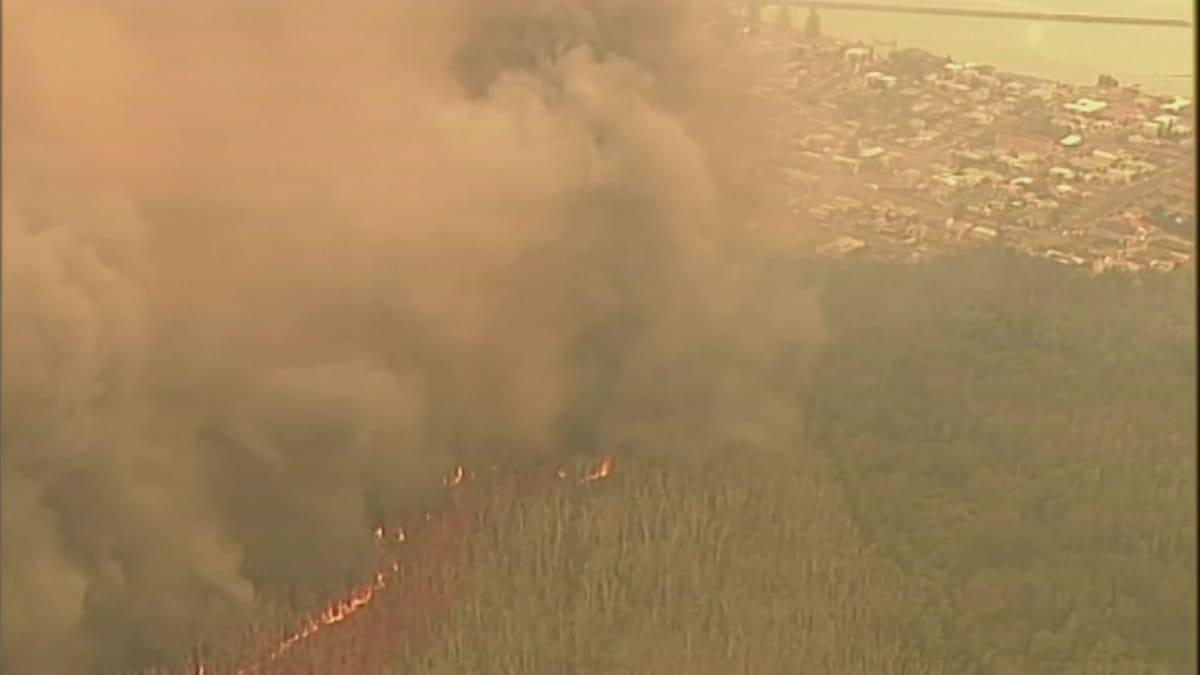 Palot etenevät Australiassa