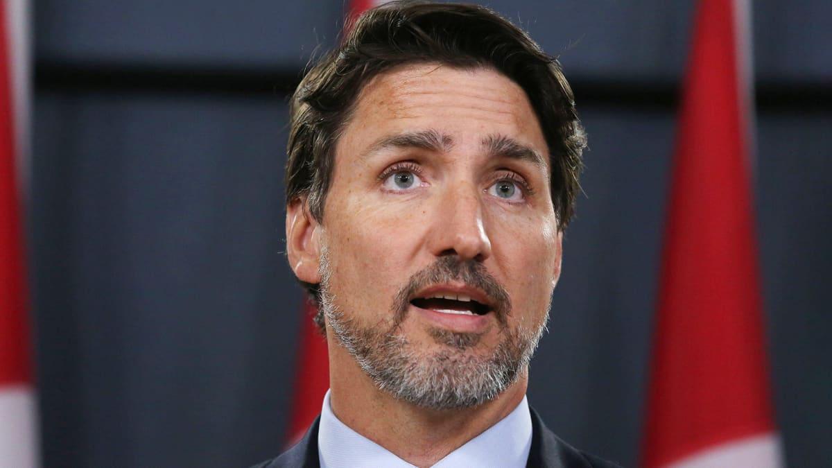 Kanadan Justin Trudeau piti tiedotustilaisuuden ukrainalaiskoneen tuhosta