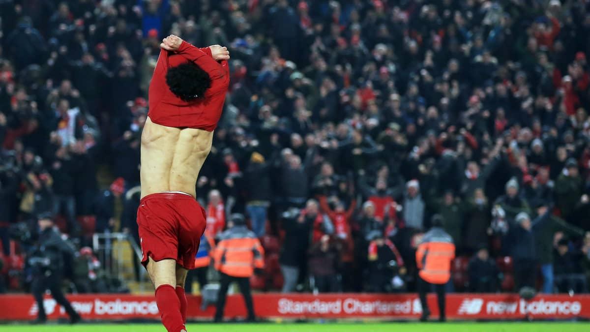Liverpool kukisti Manchester Unitedin