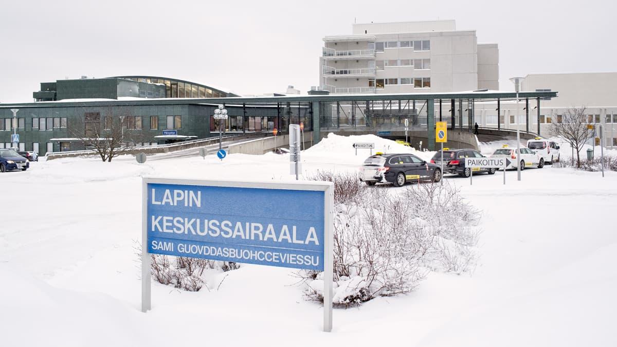 Lapin keskussairaalan tiedotustilaisuus koronavirustilanteesta