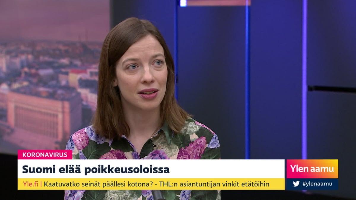 """Opetusministeri Andersson poikkeusolosta: """"Opetus jatkuu tulevien viikkojen aikana haastavista oloista huolimatta"""""""