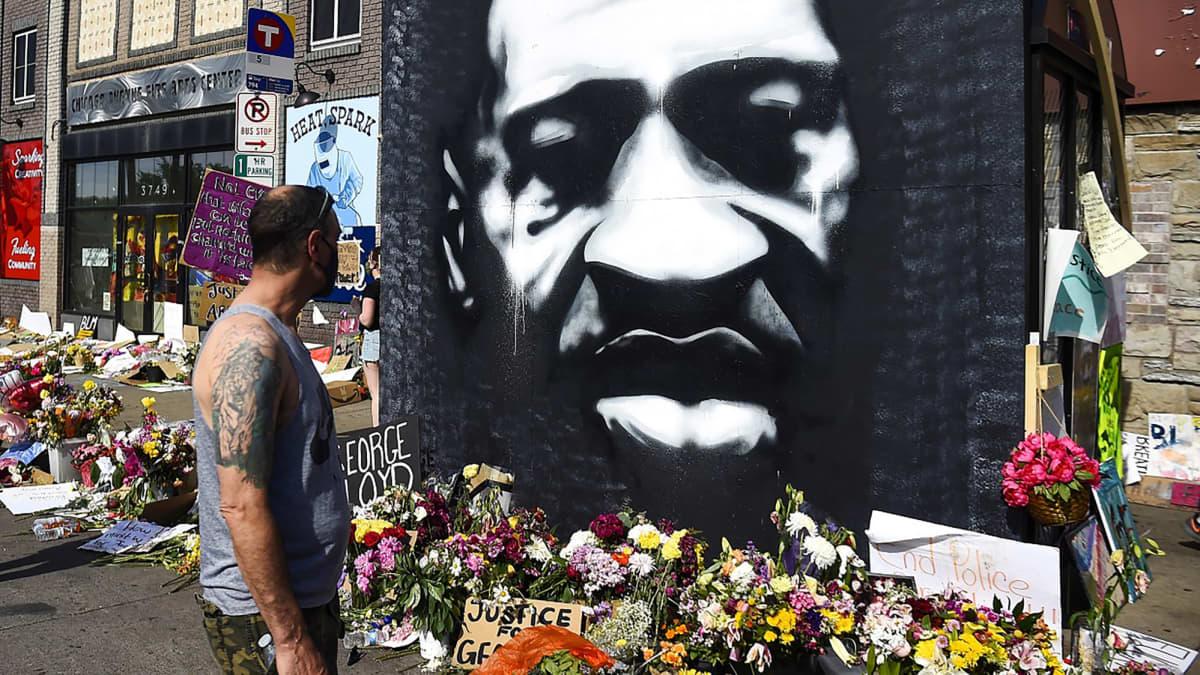 George Floydin muistotilaisuus Houstonissa