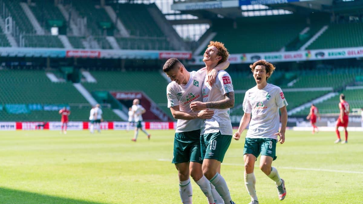 Niklas Moisanderin Werder Bremen pääsee karsimaan sarjapaikastaan